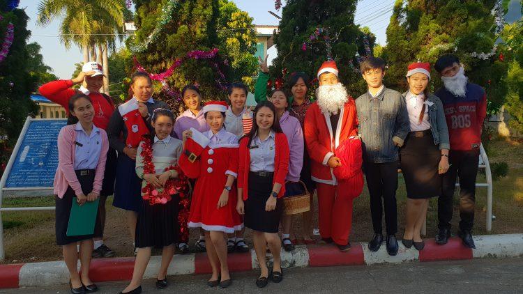 กิจกรรมวันคริสต์มาสและการแข่งทักษะภาษาอังกฤษ